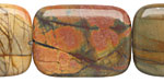 Red Creek Jasper Thin Pillow 30x21-22mm