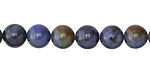 Sunset Dumortierite (rich color) Round 8mm