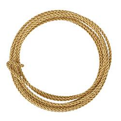 Braided Artistic Wire Tarnish Resistant Brass 12 gauge, 5 feet