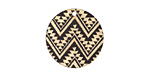 Moroccan Etched & Printed Gold Finish Coin Focal 20mm