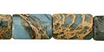 Blue Impression Jasper Thin Pillow 18x12mm