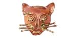 Patricia Healey Copper Cat Face 10mm Flat Slide 25x22mm