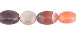 Pink Botswana Agate Tumbled Nugget 10-16x9-11mm