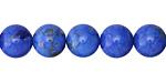 Denim Howlite Turquoise Round 10mm