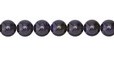 Blue Goldstone Round 8mm