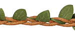 Braided Leaf & Branch Fairy Ribbon