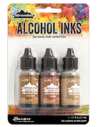 Adirondack Cabin Cupboard Alcohol Ink Kit