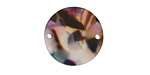 Zola Elements Garden Party Matte Acetate Coin Link 20mm
