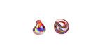 Unicorne Beads Luster Dark Rainbow Mini Teardrop 6-7mm