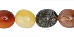 Rutilated Quartz (multi) Tumbled Nugget 13-18x10-12mm