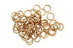 Artistic Wire Non-Tarnish Brass Chain Maille Jump Ring 5.95mm, 18 gauge
