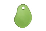 Shamrock Recycled Glass Potato Chip Drop 19-20x25-26mm