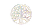 Mother of Pearl Carved Tree of Life Focal 25mm