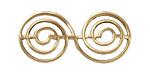 Brass Spiral 44x20mm