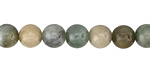Burma Jade (dark) Round 8mm
