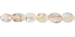 Rutilated Quartz Pebble 6-10x6-8mm