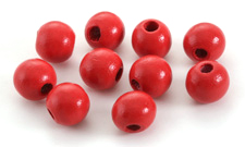 Poppy Wood Round 14mm