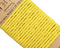 Yellow Hemp Rope 4mm, 3m