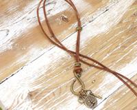 TierraCast Brass Charm Keeper Necklace Kit