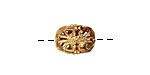 Brass Filigree Bead 13x8mm