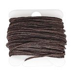 Dark Chocolate Irish Waxed Linen 7 ply