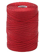 C-Lon Red Fine Weight (.4mm) Bead Cord