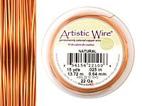 Artistic Wire Natural 22 gauge, 15 yards