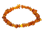 Amber Chips Stretch Bracelet