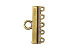 Greek Antique Brass (plated) 1-5 Link 14x25mm