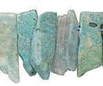 Brazil Amazonite Slices 9-16x16-43mm
