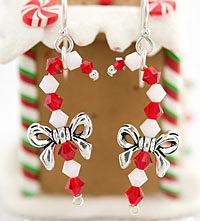 TierraCast Candy Cane Earring Kit