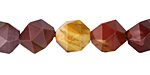 Mookaite Star Cut Round 12mm