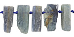 Kyanite Natural Cut Slice Drops 4-10x16-26mm