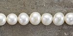 Pearly White Freshwater Potato Pearl 8-9mm
