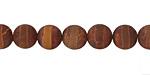 Tibetan (Dzi) Agate (rust) banded Round 8mm