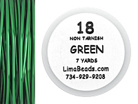 Parawire Green 18 Gauge, 7 yards