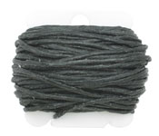 Black Irish Waxed Linen 12 ply