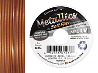 "Soft Flex Copper .019"" (Medium) 49 Strand Wire 10ft."