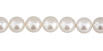 Pearly White Shell Pearl Round 8mm