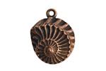 Nunn Design Antique Copper (plated) Nautilus Pendant 22x28mm