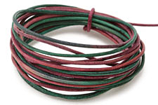 Natural Watermelon Leather Cord 1.5mm