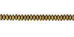 Antique Gold Hematite (matte) Rondelle 2x4mm