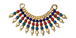 Zola Elements Gold (plated) Carnival Fringe Pendant 38x20mm