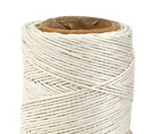 White Hemp Twine 10 lb, 205 ft