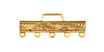 Brass Scrolling Bar 1-5 Link 32x12mm