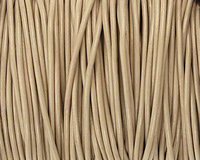 Petal Round Leather Cord 2mm