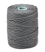 C-Lon Gray Tex 400 (1mm) Bead Cord