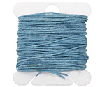 Turquoise Irish Waxed Linen 3 ply