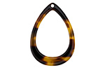 Zola Elements Tortoise Shell Acetate Open Drop Focal 22x31mm