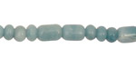 Amazonite Barrel Rondelle 4-6mm